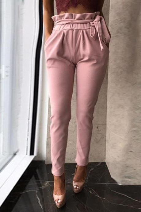 Fashion Leisure Slim Skinny Long Pants