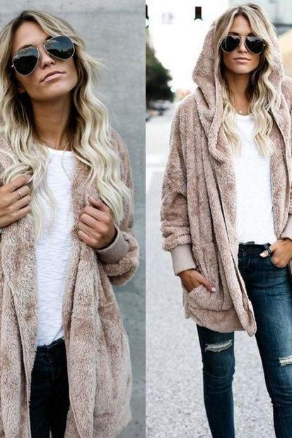 Women Sweater Cardigan Outwear Coat